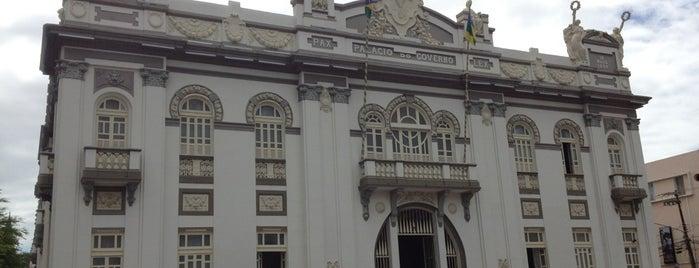 Palácio Museu Olímpio Campos is one of Sergipe / 2013.