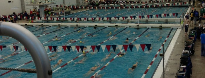 Swim meets -great aquatic centers for athletes