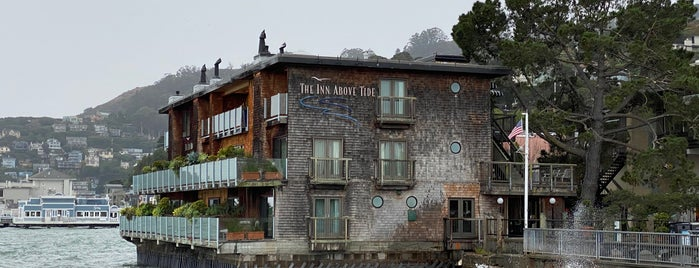 The Inn Above Tide is one of San Francisco.
