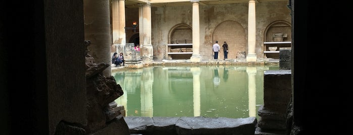 The Roman Baths is one of Locais curtidos por T..