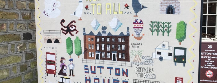 Sutton House is one of T.さんのお気に入りスポット.