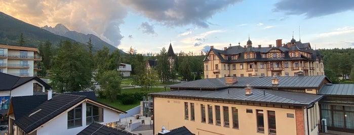 Hrebienok Resort is one of Slovakia Tatry Vacation.