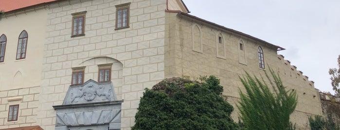 Státní zámek Náměšť nad Oslavou is one of Check this Paja's list.