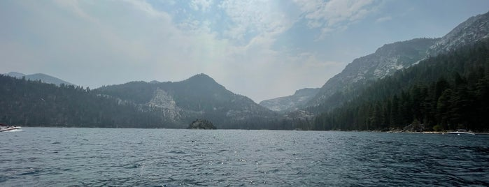 Emerald Bay is one of Lake tahoe.