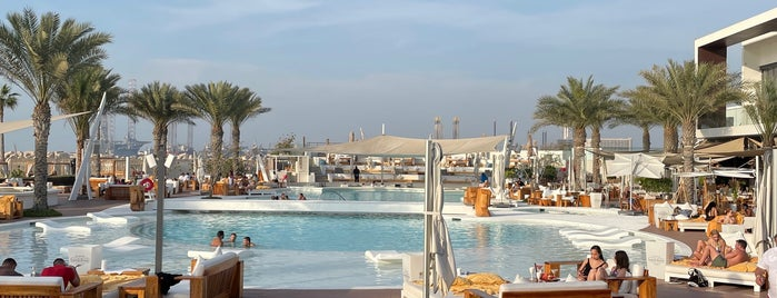 Nikki Beach Club is one of Dubai.