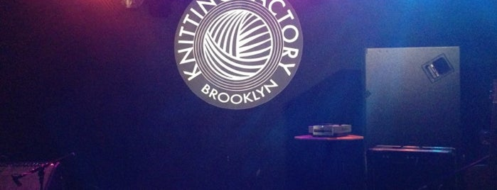 Knitting Factory is one of CMJ 2012.