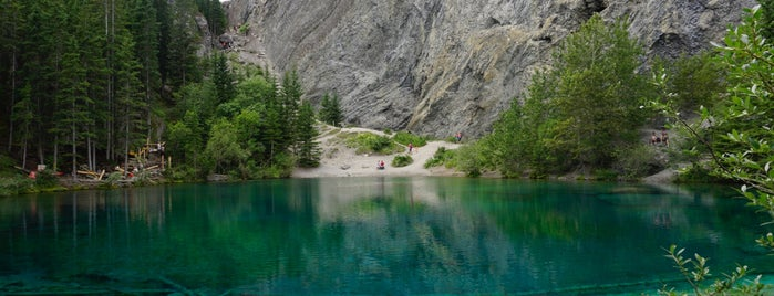 Grassi Lake Trail is one of Canada.