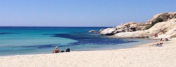 Mikri Vigla Beach is one of Greece.