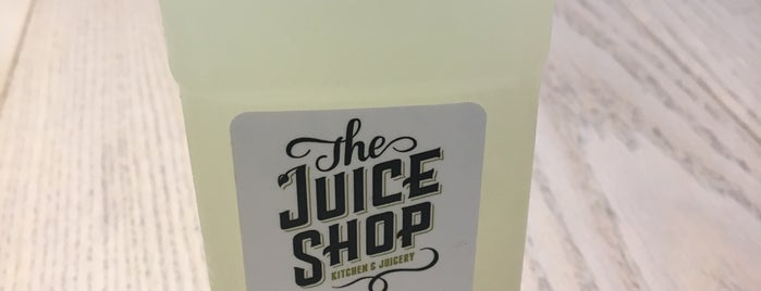 The Juice Shop is one of Financial District.