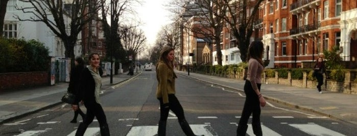 Abbey Road Studios is one of Where to go in London.