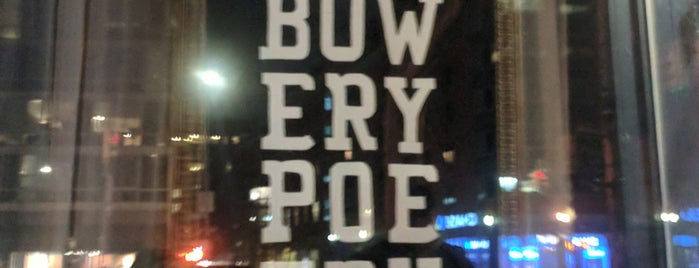 Bowery Poetry is one of NY.