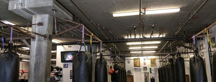 3rd St. Boxing Gym is one of The more I work out the more wine I can have.
