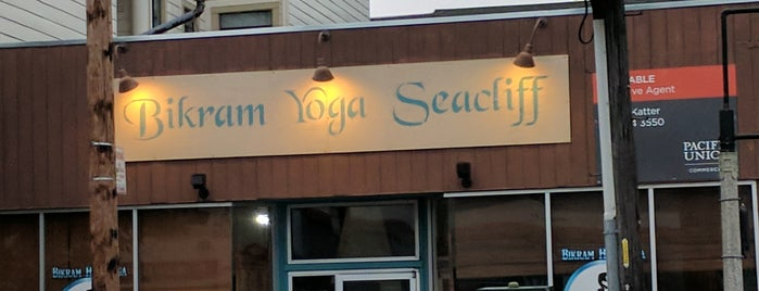 Bikram Hot Yoga Seacliff is one of san fran.
