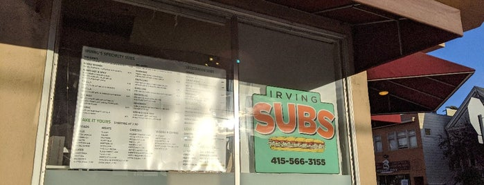 Irving Subs is one of San Francisco-Foodie-Must-Try.