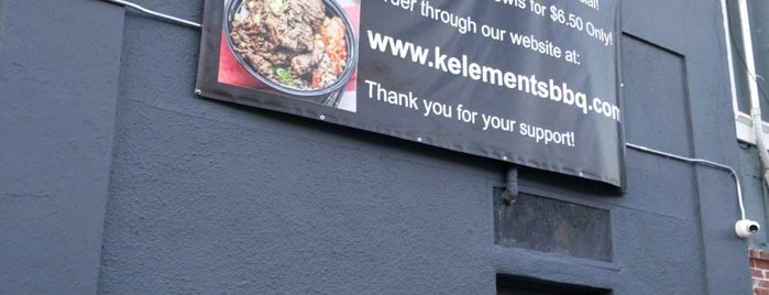 K-Elements BBQ is one of Restaurants I've tried.