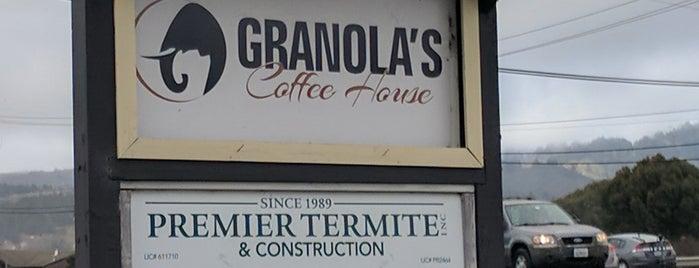 Granola's Coffee House is one of Tempat yang Disukai Adena.