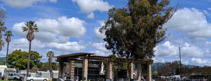 Calvary Catholic Cemetery is one of SF Bay Area - been there I.