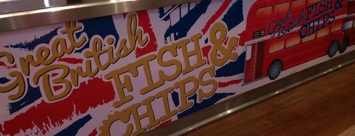 Great British Fish & Chips is one of Kellyさんのお気に入りスポット.