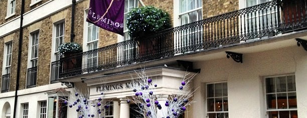 Flemings Mayfair Hotel is one of London Life Style.