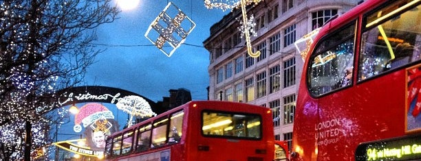 Oxford Street is one of London, UK (attractions).