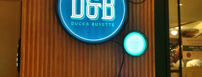 Duck & Buvette is one of Posti salvati di Edie.