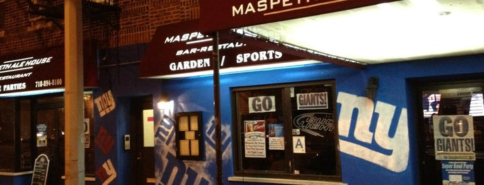 Maspeth Ale House is one of to try in queens.