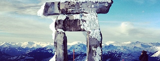 Whistler Mountain Summit is one of Orte, die Adriane gefallen.