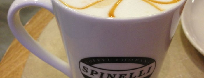 Spinelli Coffee Company is one of Royal Plaza on Scotts'un Beğendiği Mekanlar.