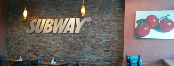 Subway is one of Tawseef's Liked Places.