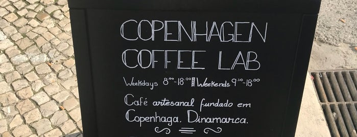 Copenhagen Coffee Lab is one of Lissabon.