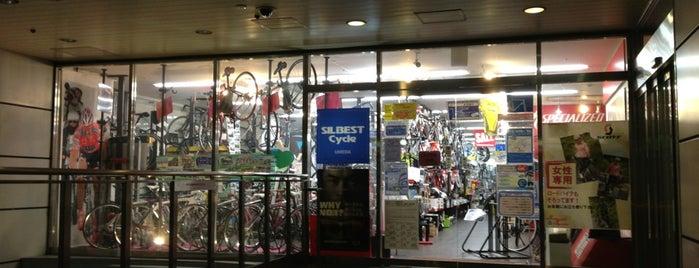 シルベストサイクル 梅田店 is one of Bici.