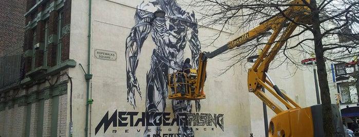 Metal Gear Rising Mural | #MGRising is one of Dylan: сохраненные места.