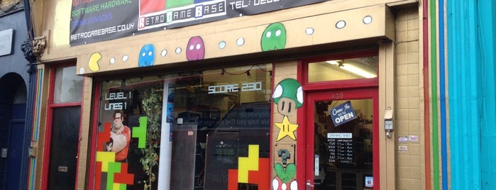 Retro Game Base is one of London.