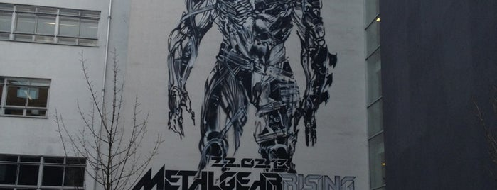 Metal Gear Rising Mural | #MGRising is one of Nerds in London.