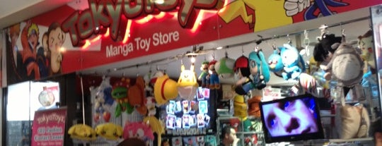 Tokyo Toys is one of Nerds in London.