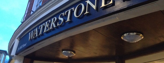Waterstones is one of Bookstores London.