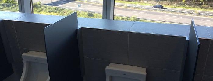 "Toilette ""Autobahnblick"" is one of Crazy Places."