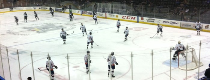 Colorado Eagles Hockey Game is one of Alan'ın Beğendiği Mekanlar.