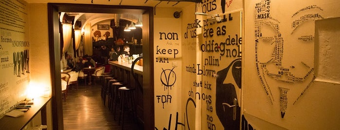 AnonymouS Bar is one of Prague.