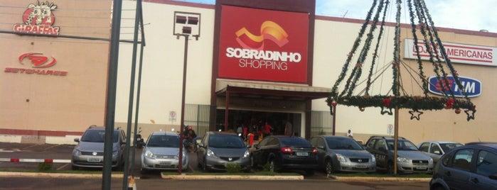 Sobradinho Shopping is one of Must-visit Malls in Brasília.