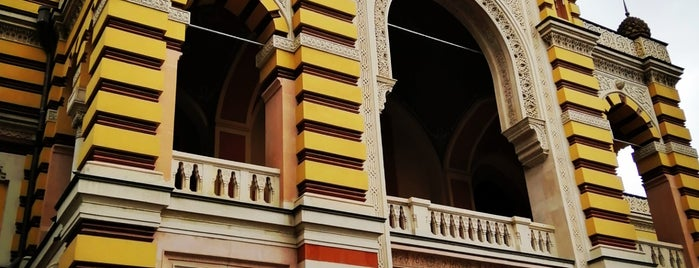 Tbilisi Opera and Ballet Theatre   ოპერისა და ბალეტის თეატრი is one of Central Asia.