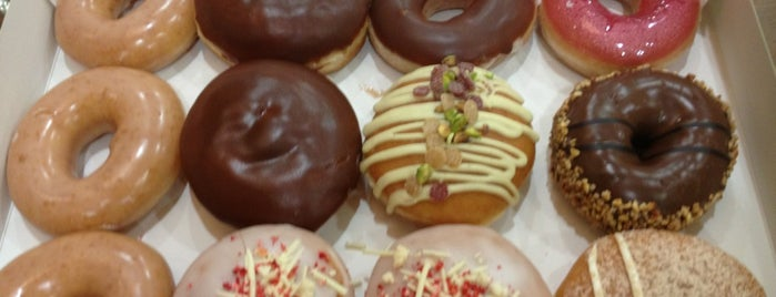 Krispy Kreme is one of Favorite Place's To Eat.