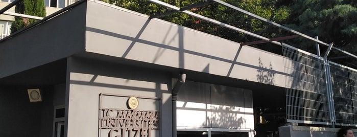 Marmara Üniversitesi Güzel Sanatlar Fakültesi is one of Dsignoriaさんのお気に入りスポット.