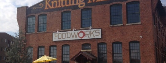 Food Works Riverside is one of Posti salvati di Christopher.