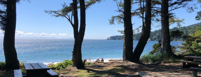 French Beach Provincial Park is one of Victoria, BC.