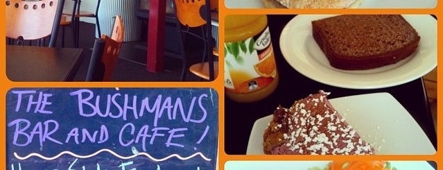 Bushman's Bar & Cafe is one of Essen 12.