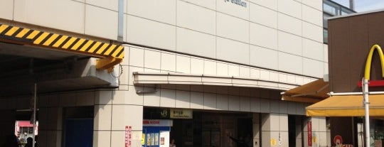 Minami-Senju Station is one of Lieux sauvegardés par Orietta.