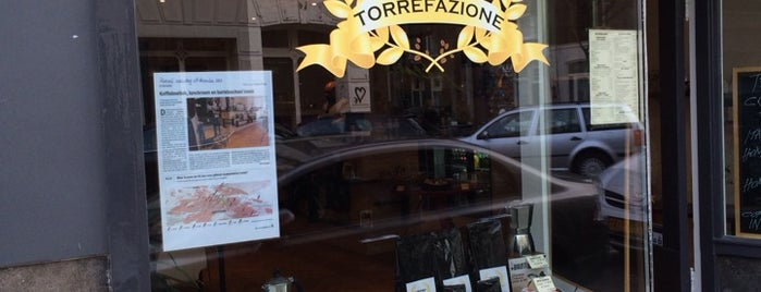 Torrefazione is one of Brunch Amsterdam-to do.