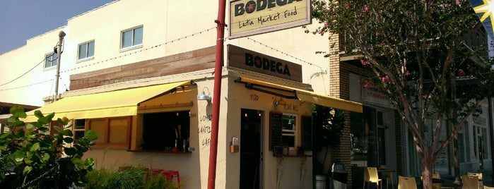 Bodega is one of Dinner spots 2.