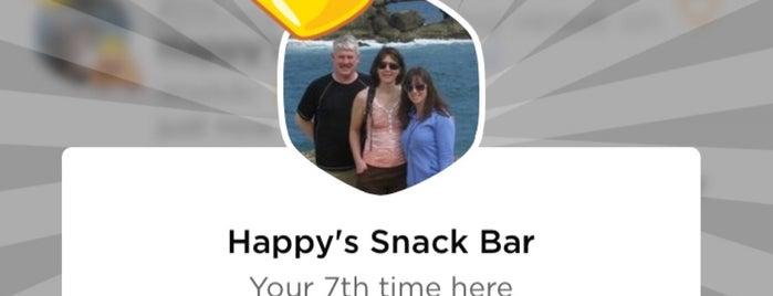 Happy's Snack Bar is one of Posti che sono piaciuti a Jason.